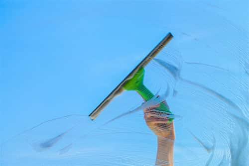 glasbewassing